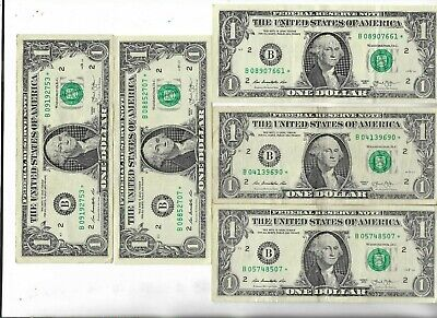 Rare US ☆ Dollar Bill Collectible Paper Money Small Size Note Collection Lot:13