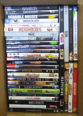 Wholesale Bulk lot of 34 DVD's: Drama Action Comedy Horror Movies