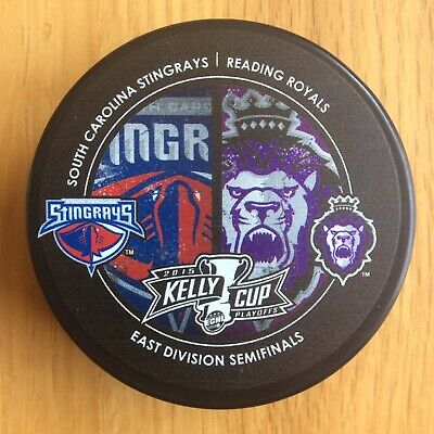Royals Vs Stingrays 2015 Kelly Cup ECHL Ice Hockey Puck Official Merchandise