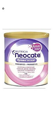 4 Cans Neocate Syneo Infant Formula Free shipping!!!