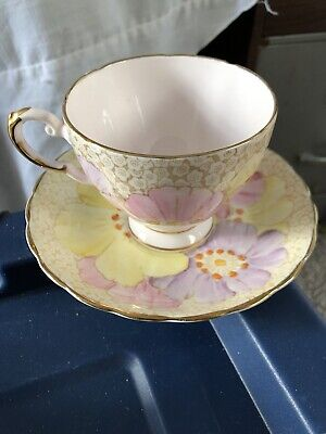 Plant Tuscan China Porcelain Tea Cup Made In England