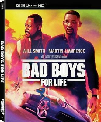 Bad Boys For Life (Blu-ray 4K + Case + Slip-Cover) 1-Disc Never Viewed