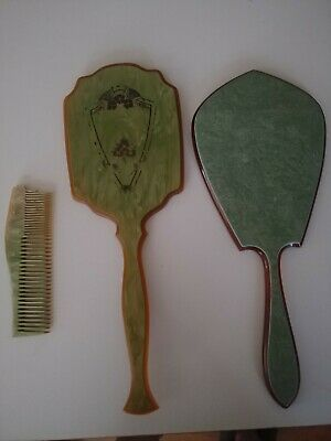 vintage hand mirrors, lot of 2, possibly bakelite