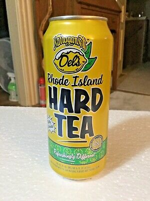 Narragansett Beer Del's Lemonade Rhode Island Hard Tea 16oz. Malt Beverage Can