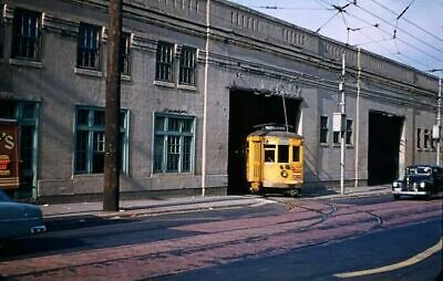 Baltimore #26 Line At The Car Barn On Lombard Street - Photo