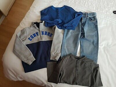 Boys Bundle of clothes jeans,tops and t-shirts Age 6