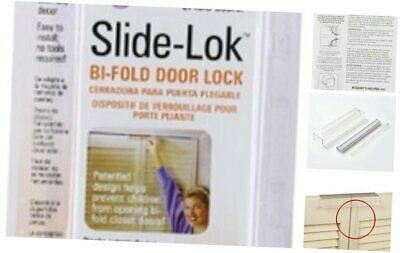 Mommy's Helper Slide-Lok Bi-Fold Door Lock