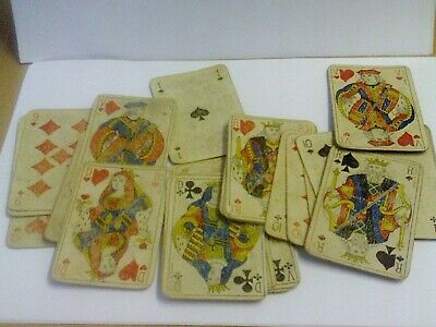 Rare Pack Of32 Suze Gentiane Playing Cards In Original Box,  Very Good Condition