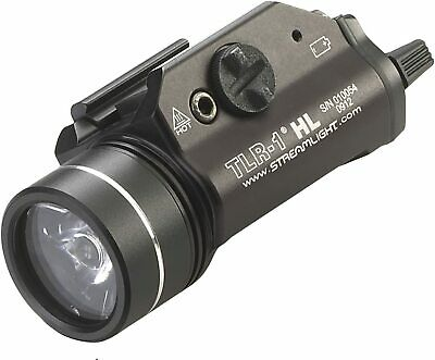 Streamlight 69260-TLR-1 HL Weapon Mount Flashlight Light 800 Lumens with Strobe