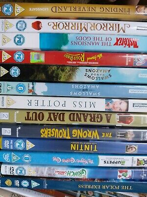 Dvd bundle - non-Disney children's