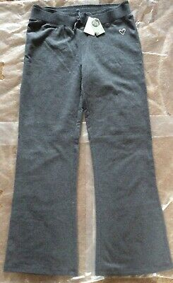 Urban Girls Grey Cotton Mix Track Light Flared Trousers Joggers Age 14 Years New