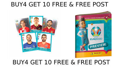 Panini Uefa Euro 2020 Preview Stickers Esp 1 - Pol 28 'Single Stickers'