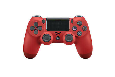SONY PlayStation 4 Wireless Dualshock 4 v2 Controller, Magma Red