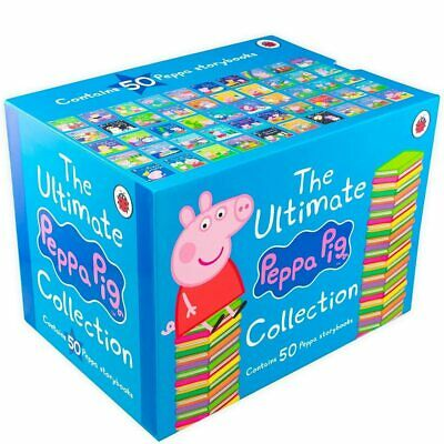 NEW Ladybird Ultimate Peppa Pig Storybook Collection 50 Books Box Kids Gift Set!