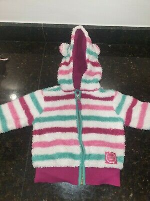 Joules Girls Hoodie Jacket Age 9-12 Months