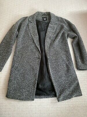 Girls New Look 915 Generation Grey Blazer Jacket Size: 12-13 Years