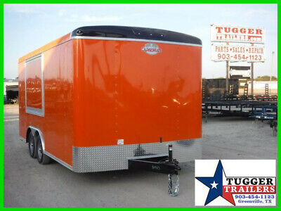 8.5X16 16Ft Food Street Taco BBQ Concession Vending Snow Ice Business Trailer