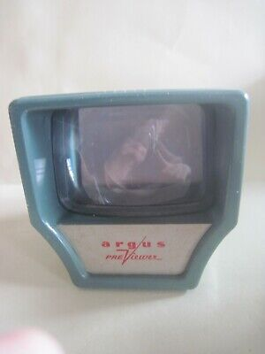 Argus Pre-Viewer For Color Slides