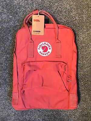 Fjallraven Large Kanken Backpack (Pink, Dahlia) NEW WITH TAGS