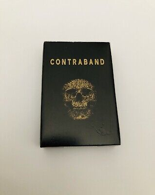Playing Cards Contraband Skull Design