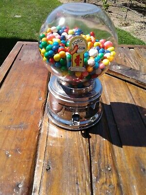 Vintage gum ball machine- 1 cents-RARE