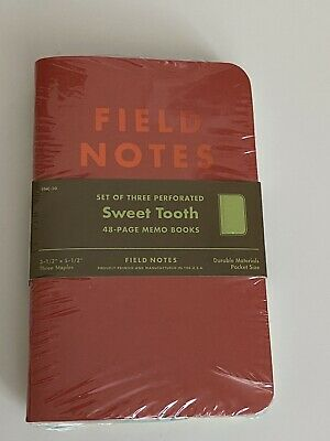 Field Notes Limited Edition Notebooks - Sweet Tooth - FNC-30 Spring 2016
