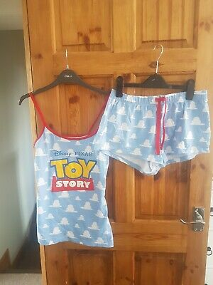 Toy Story Shortie Cami Pj Set New No Tags Uk 6/8