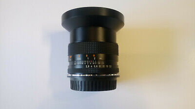 Carl Zeiss Distagon 28mm F2.8 T made in Japan Contax C/Y Canon EF mount