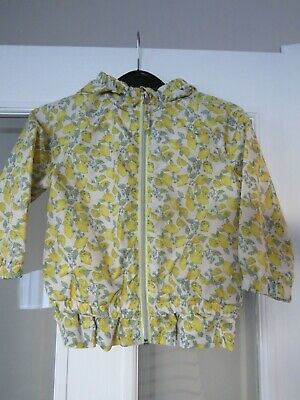 Next Girls Coat Raincoat Jacket Age 18-24 Months