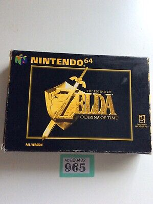 nes nintendo 64 The Legend Of Zelda Ocarina Of Time Box And Manual Only