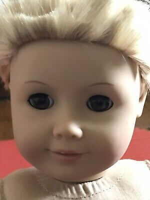 """American Girl  KAILEY ? 18"""" Doll  Pleasant Company Blonde Hair, Brown Eyes Parts"""