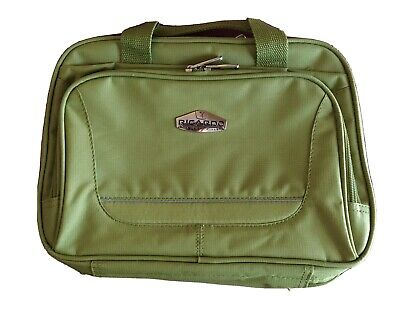 Ricardo Beverly Hills Carry On Toiletry Case Travel Bag Multi Lime Green Luggage