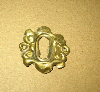 Victorian Style Brass Ornate Design Key Hole Escutcheon Cover~Stock Part 10