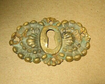 Victorian Style Brass Ornate Design Key Hole Escutcheon Cover~Stock Part 20