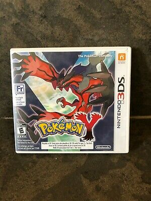 Pokemon Y (3DS, 2013) With All Inserts ! Authentic .