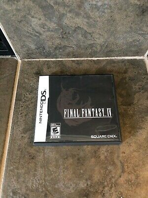 Final Fantasy IV (Nintendo DS, 2008) With Manual. Authentic.