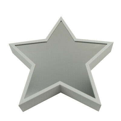 Star Shaped Upright Wall Mount Light Stand Up LED Lamp Dorm Mirror Bedroom Decor