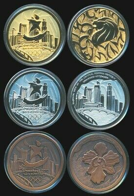 Scarce 2010: Medals of the Singapore Youth Olympic Games