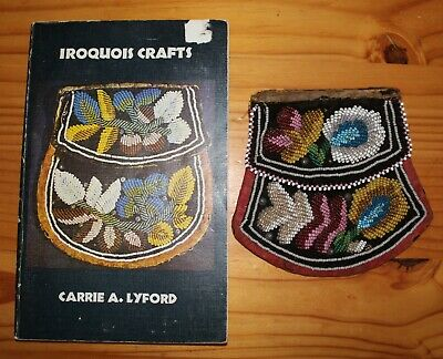 Antique Native American Iroquois Beaded Purse