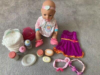 Zapf Creation Baby Born doll and accessories bundle