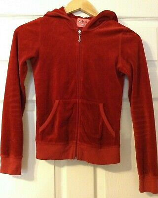 Juicy Couture hoodi burgund colour-size XXS / child 10-11 years old