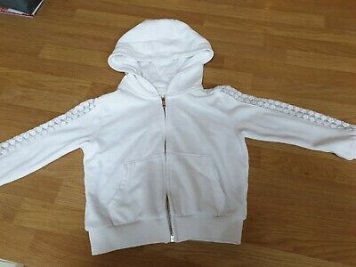 Girls Next White Hoodie Age 4