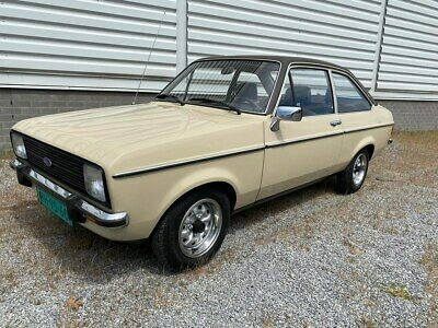 Escort Mk2 1300Gl Lhd 2 This Car Now Sold