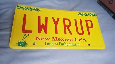 LWYRUP License Plate Breaking Bad & Better Call Saul
