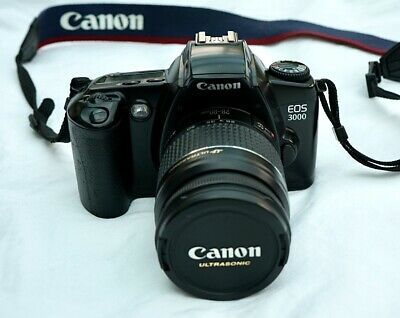 Canon EOS 3000 Film Camera with 28-80mm Lens