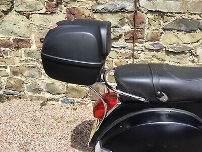 vespa px top box and rear rack carrier official piaggio