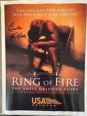 Signed Ring Of Fire Film Flyer