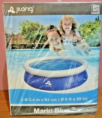 Jilong Marine Blue Round Paddling / Swimming Prompt Pool 2.4M X 63Cm - Brand New