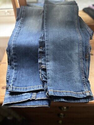 Boys Jeans Age 13 Straight Fit Marks & Spencer And Tu