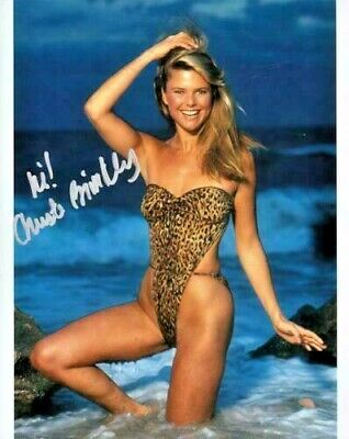 Christie Brinkley Signed 8x10 Photo with COA